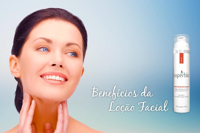 3 Benefícios da Loção Facial de Limpeza Supérbia