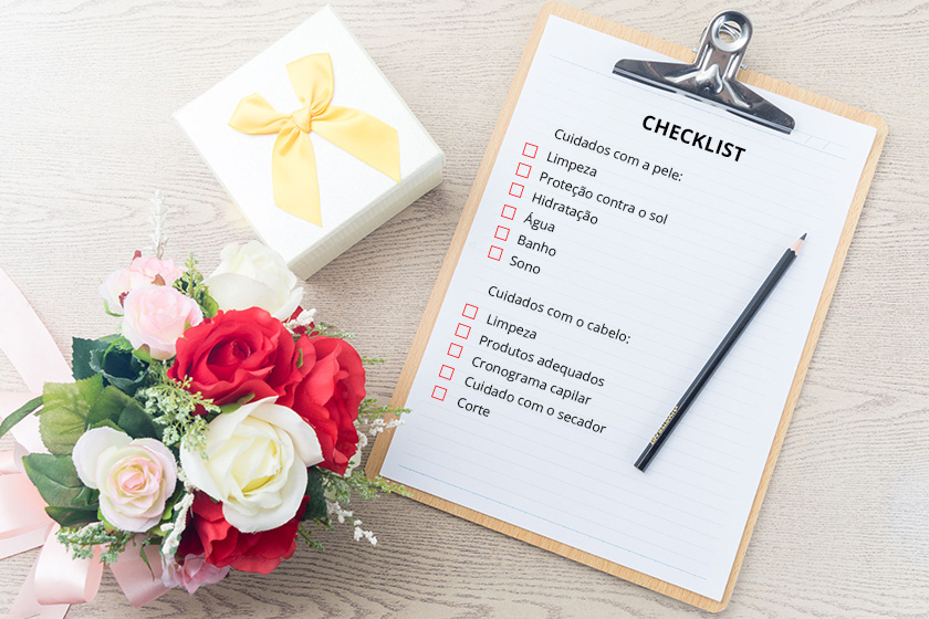 Fique sempre linda seguindo a checklist da rotina de beleza